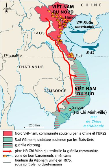 Son emploi pendant la guerre du viêt nam (1959-1975)
